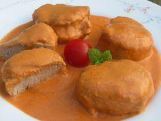 Absolutamente delicioso, solomillo en salsa de almendras , una salsa que hará que os chupéis los dedos, preparar pan o una cuchara!jajaja. ...