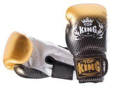 Rękawice bokserskie Top King SUPER STAR 14oz złote