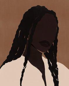 Art And Illustration, Illustration Fashion, Black Art Painting, Black Artwork, Kunst Inspo, Art Inspo, Art Mignon, African American Art, American Women