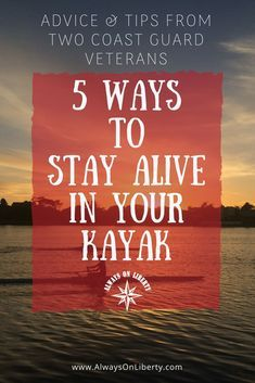 5 Ways to Stay Alive in your Kayak, Paddle Board, Canoe and Raft. Lifesaving information for watercraft and boats. Read this if you're a paddler or boat operator. Don't become a drowning statistic. Inflatable Fishing Kayak, Kayak Fishing, Fishing Tips, Kayak Rack, Kayak Storage, Canoe Boat, Canoe And Kayak, Canoe Trip, Kayak For Beginners