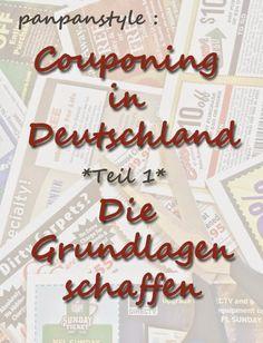 panpanstyle: Couponing in Deutschland  - Teil 1: Grundlagen schaffen