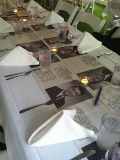 class reunion dinner a great way to put together a creative seating arraignment for you