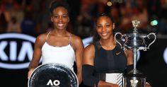 Serena and Venus Williams Define Sisterhood at the 2017 Australian Open