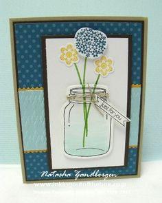 Loving this jar!! by Natasha Zandbergen - Cards and Paper Crafts at Splitcoaststampers