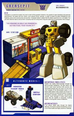 Transformer of the Day: Greasepit