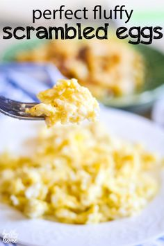 Are your scrambled eggs tough or lacking in flavor? Then you need these 3 secrets to making these melt-in-your-mouth, fluffy scrambled eggs! Egg Fluffiest, Melt-in-Your-Mouth Scrambled Eggs Mexican Breakfast Recipes, Gluten Free Recipes For Breakfast, Low Carb Breakfast, Best Breakfast, Brunch Recipes, Breakfast Pizza, Breakfast Bowls, Breakfast Ideas, Dinner Recipes
