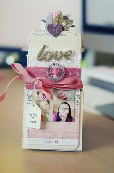 cute tag mini album