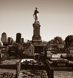 Ballarat Old Cemetery - by Getdownthump, via Flickr