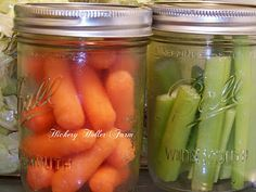 keeping veggies fresh in the fridge another great use for mason jars