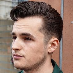 Vintage Hairstyle For Men