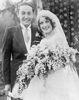 Norma Shearer and Irving Thalberg's wedding, October 1927 Bride, vintage wedding gown, dress Vintage Wedding Photos, Vintage Bridal, Wedding Pics, Wedding Couples, Wedding Bride, Wedding Styles, Wedding Dresses, Vintage Weddings, Wedding Posing