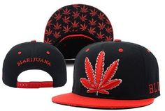 9d77a0934b8 Cool Kings ® Marijuana Weed Black Snapback Cap Hat for Men Baseball Cap  YCMI http