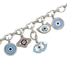 I think this bracelet would provide more than enough evil eye protection