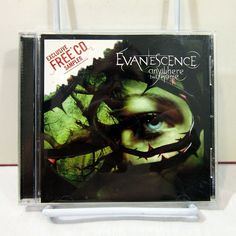 CD Sampler Evanescence Anywhere But Here (Bluenotes 2004) 4 Tracks Tested Rare