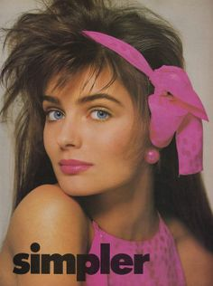 Vogue US, June 1986 Model : Paulina Porizkova