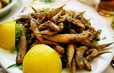 """Atherina"" - Delicious small fried fish - eat it as ""finger food"""