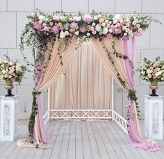 Decoration Idea | Ceremony Backdrop