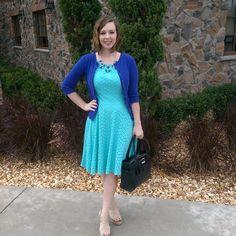 Cobalt & Turquoise. Modern Modesty Blog. Modest Outfit Ideas.