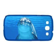 #Dolphin 001 #Galaxy S3 Case #JAMFoto #Cafepress.com