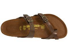 Birkenstock Mayari Golden Brown Birko-Flor™ - Zappos.com Free Shipping BOTH Ways