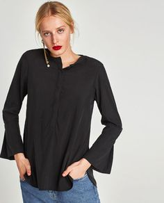FLOWING BLOUSE-NEW IN-WOMAN | ZARA United States