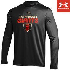 San Francisco Giants heatgear® Loose Fit Long Sleeve Tech T-Shirt