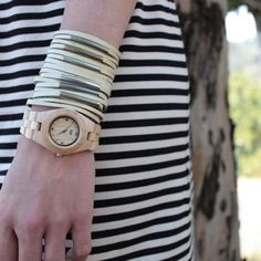 wooden watch, tree planted for each one sold! #wewood #sustainablefashion