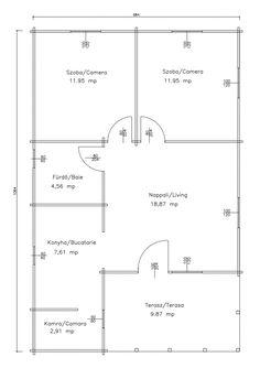 Korondi Árcsó - Gyilkostó Floor Plans, Diagram, Home Architecture, Houses, Floor Plan Drawing, House Floor Plans