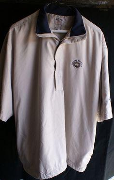 Callaway Golf Sport Outerwear Mens Large 1/2 Sleeve, Great Windshirt #CallawayGolf #WindShirt