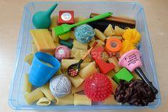 Сенсорная коробка для малышей