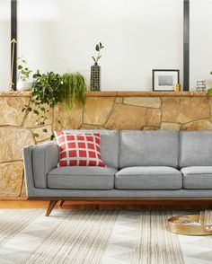Freedom Dahlia sofa with SS15 homewares.