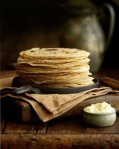 Pane carasau #Sardinia Traditional crispy flat bread