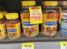 Free L'il Critters Gummy Vites at Walmart--Save Up to $15.00! - The Krazy Coupon Lady