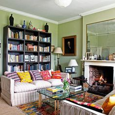 """Make use of heirlooms. [link url=""""http://rupertbevan.com/""""]Rupert Bevan[/link]'s home gives a sense of having evolved over time, filled with delightful and amusing details mixed with his own designs. (If any objects are less than attractive you can always [link url=""""http://www.houseandgarden.co.uk/interiors/quick-diy-home-decorating-tips/china-white""""]repurpose them[/link].) [i]Taken from the October 2010 issue of House & Garden.[/i]"""