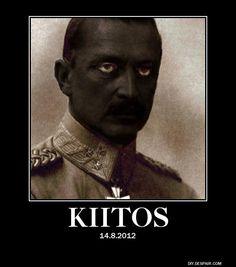 Musta marsalkka elää jo meemeissä. #viikontrendi #Mannerheim