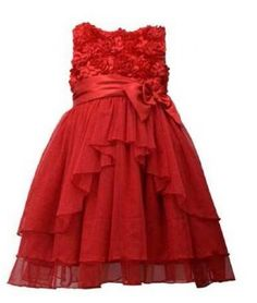 Bonnie Jean Little Girls Red Bonaz Satin Bow Sparkling Mesh Ruffle Dress 6 >>> Find out more about the great product at the image link. Girls Christmas Dresses, Holiday Dresses, Special Occasion Dresses, Girls Dresses, Flower Girl Dresses, Red Sleeveless Dress, Mesh Dress, Ruffle Dress, Dress Red