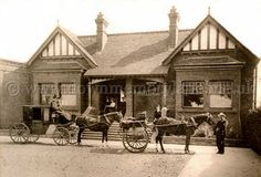 ANTRIM RAILWAY STATION, 1935. Old Photographs, Belfast, Northern Ireland, Trains, Gazebo, Outdoor Structures, Cabin, House Styles, Places