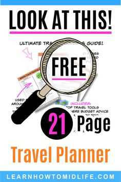 The Ultimate Travel Planning Guide is here. This printable travel planner is crammed full of travel tips & travel hacks. Great for family, couples & solo . Travel Advice, Travel Guide, Travel Hacks, Vacation Planner, Travel Planner, Travel Couple, Family Travel, Asia Travel, Travel Packing
