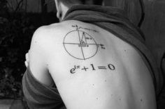 Euler's Identity - a popular tattoo