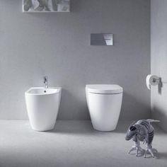 Ikonisch: Stand-WC und Stand-Bidet