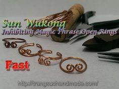 Sun Wukong Inhibiting Magic Phrase Open Rings - Fast version 311