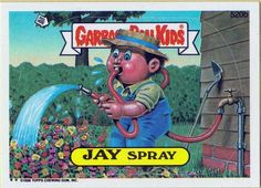 Pin By Leslie Payne On Garbagepailkids Garbage Pail Kids Cards Kids Cards Small Cards