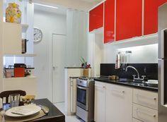 Apartamento funcional, fácil de limpar e com muito conforto