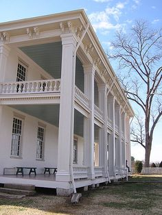 Carnton Mansion in Franklin, Tennessee was used as a Confederate hospital during the Civil War.