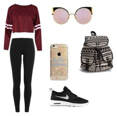 """Untitled #53"" by erikaelena23 on Polyvore featuring Polo Ralph Lauren, NIKE, NLY Accessories, Fendi and Agent 18"