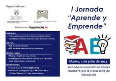 Jornada Aprende y Emprende en la Universidad de Valencia.