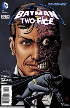 Batman & Robin/Two-Face #25 (Brian Bolland)