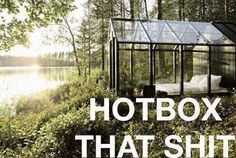 Hotbox that shit. #Marijauna #bedroom