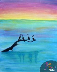 Paint Nite Losangeles | Desano Pizzaria 09/17/2015