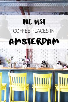 "Coffee time in Amsterdam! But where to go? See the list on travel blog http://www.yourlittleblackbook.me with tips for the best hotspots, cafes and restaurants that serve great coffee! Planning a trip to Amsterdam? Check http://www.yourlittleblackbook.me/ & download ""The Amsterdam City Guide app"" for Android & iOs with over 550 hotspots: https://itunes.apple.com/us/app/amsterdam-cityguide-yourlbb/id1066913884?mt=8 or https://play.google.com/store/apps/details?id=com.app.r3914JB"
